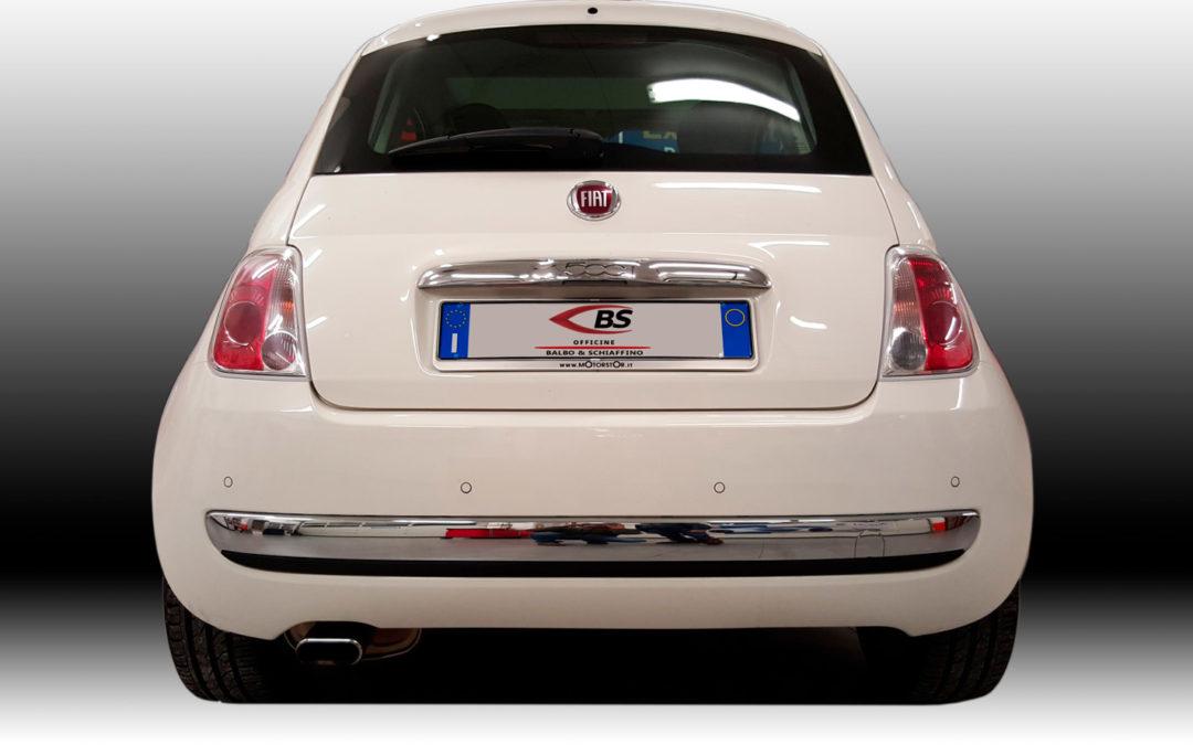 Parking Sensor su Fiat 500