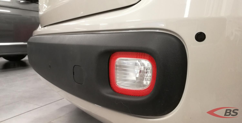 sensori parcheggio su Fiat Panda